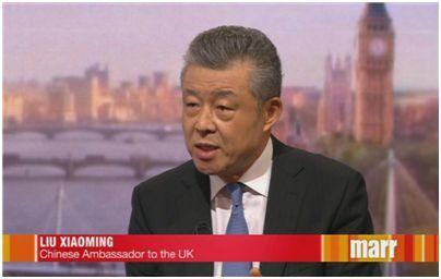 """大发欢乐生肖中央政府会直接介入吗q秀文笔在线? 刘大使: 你提到了""""一国两制""""50年不变"""