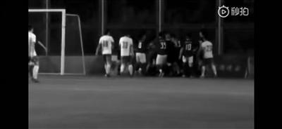 成都业余足球联赛球员围殴裁判,全职守夜人