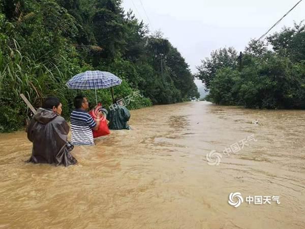 """广东福建加入强降雨""""战队"""" 暴雨大暴雨范围扩至【?省区】"""