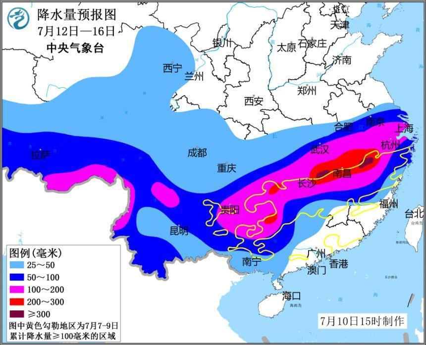 未来一周南方地区将接连迎来两次强降雨过程