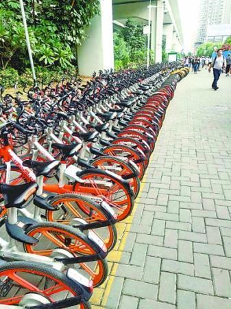 配资资讯网武汉:市民违停共享单车将承担调度费