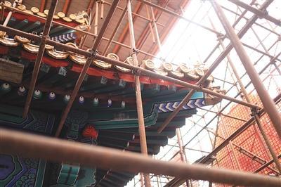 中山公园宰牲亭关闭将大修 估计来岁9月落成