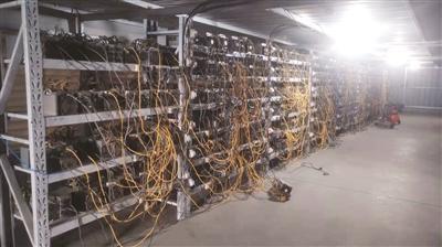 """想""""挖""""更多比特币却太费电? 他们盗2000多万元的电"""