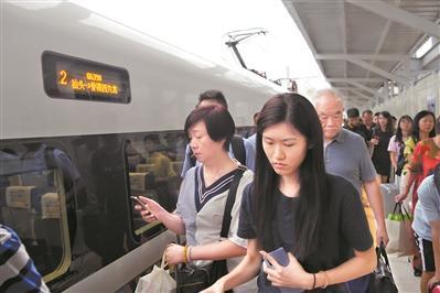 新列车运行图实施:高铁连城 大湾区提速