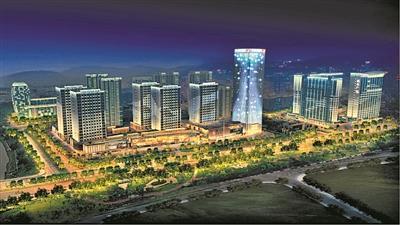 广州:科学城奥园片区升级夜景