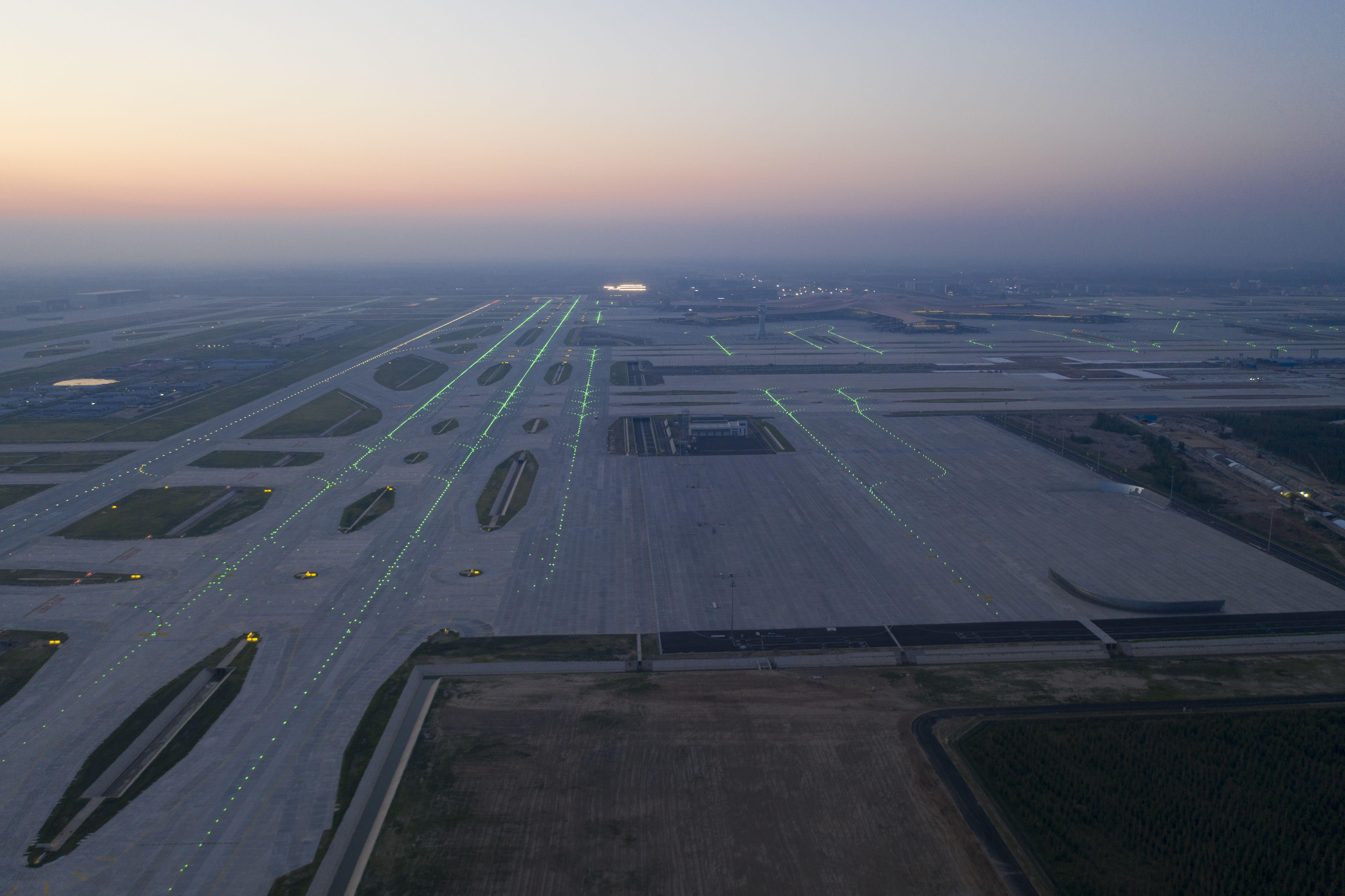 """国内首例! 大兴机场""""全向型""""飞行区工程通过配资资讯验收"""