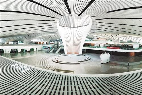 """航空托运行李追踪将实现""""尽在掌握"""" 大兴国际机场定位精度达10厘米"""