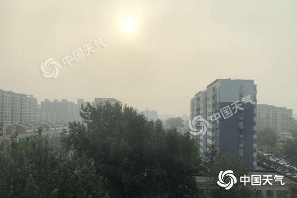 北京今日敞开高温炽热形式 明夜雷阵雨来袭