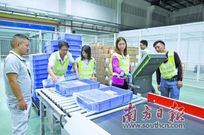 广丰跨境电商产业园上半年跨境电商零售进口总货值比增26倍