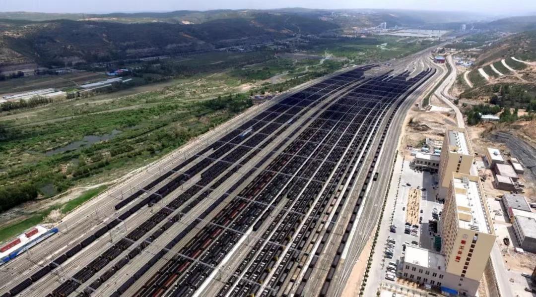 神朔铁路朱盖塔站: 13亿吨煤从这里运往全国各地