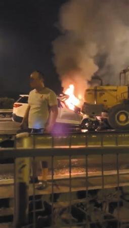 北京四环追尾变乱致2死,前车司机被指未施救