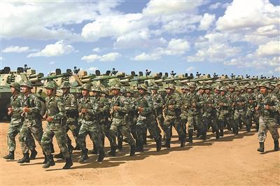 第80集团军某合成旅联合战术演练:草原鏖兵淬利剑