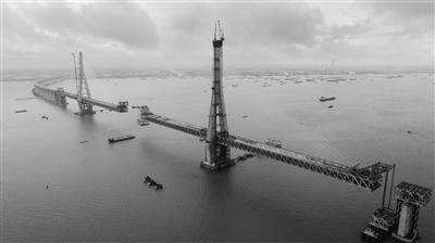 沪通长江大桥有望国庆前意会