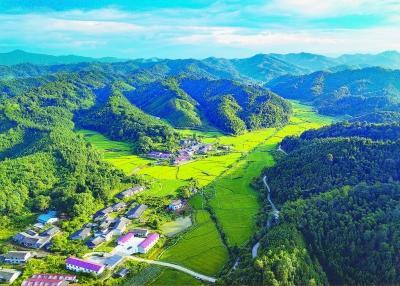江西芭蕉村美景如田园山水画