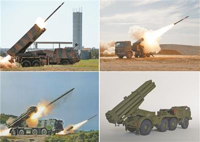 """火箭炮:从""""喀秋莎""""到""""飓风"""""""