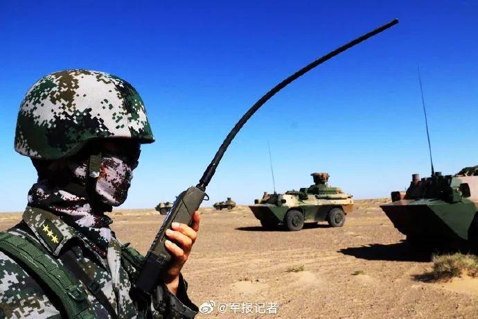 這就是軍人的三伏天!
