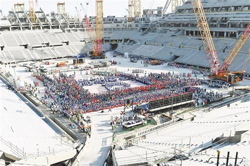 卡塔尔世界杯体育场建设顺利