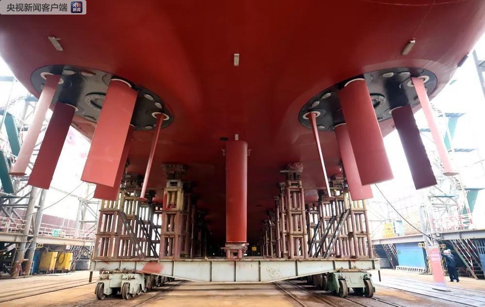 """又一海洋科考重器! 4000吨级 """"大洋号""""交付(图)"""