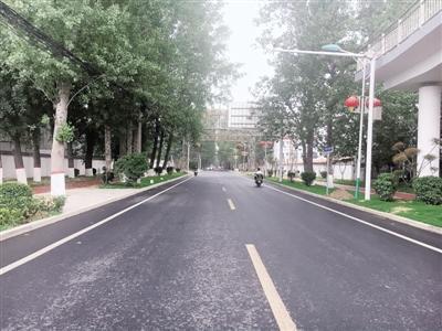 再去黄河游览区 走花园口老街通畅多了