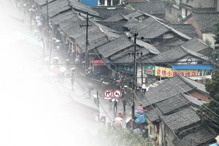 西昌古街巷 停滞的千年光阴