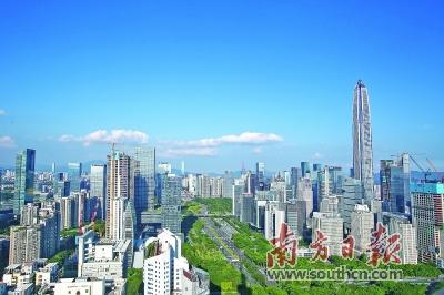 上半年深圳GDP同比增长7.4%,高于全国全省平均水平-中新网