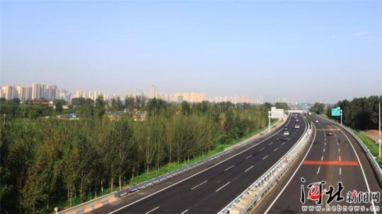 多个第一!黄石高速藁城至石家庄段改造工程建成通车