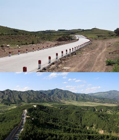 """从沙尘""""策源地""""到城市后花园 内蒙古这片土地变化有点大"""