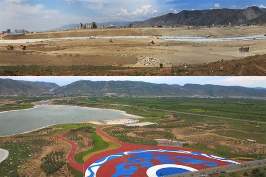 """从沙尘""""策源地""""到城罗许的书市后花园 内蒙古这片土地变化有点大"""