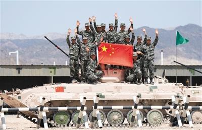 库尔勒国际军事小小忍者金子比例比赛中国队获首胜