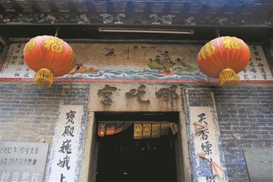"""广州有一座""""哪吒宫"""" 每年农历三月六为哪吒庆生"""