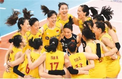中国女排开启卫冕之旅:挺进奥运会 再战世界杯
