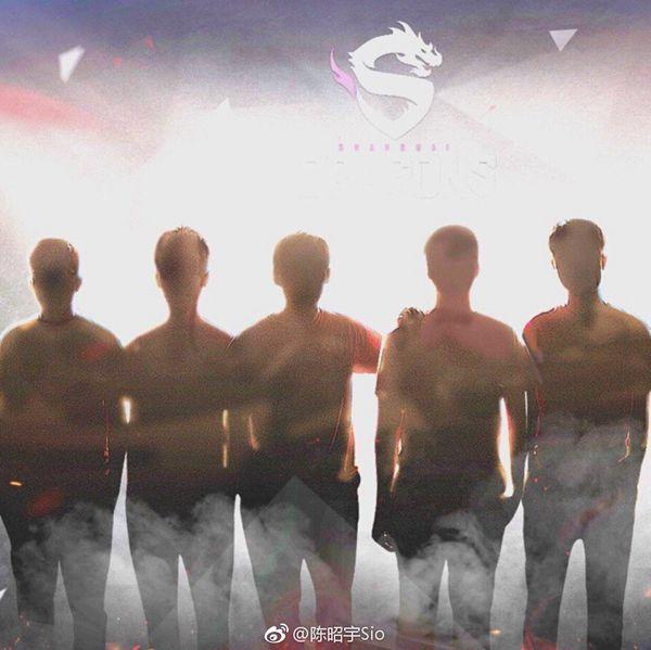 上海龙之队。来源:Fiveking陈昭宇微博