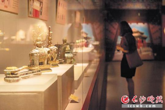 乾隆时期冰箱,嘉庆皇帝龙袍,这里都有
