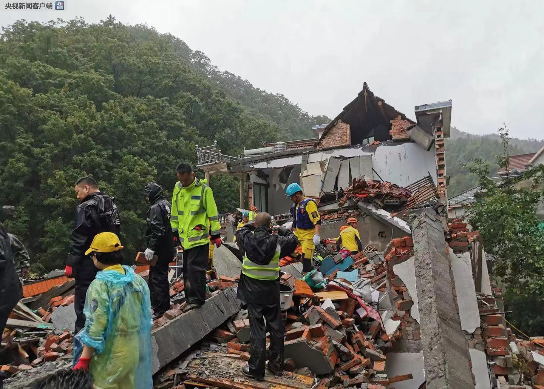 浙江临安短时局地暴雨已致3人死亡4人失联