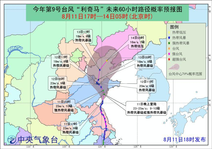利奇马将登陆山东 台风防御准备工作有哪些