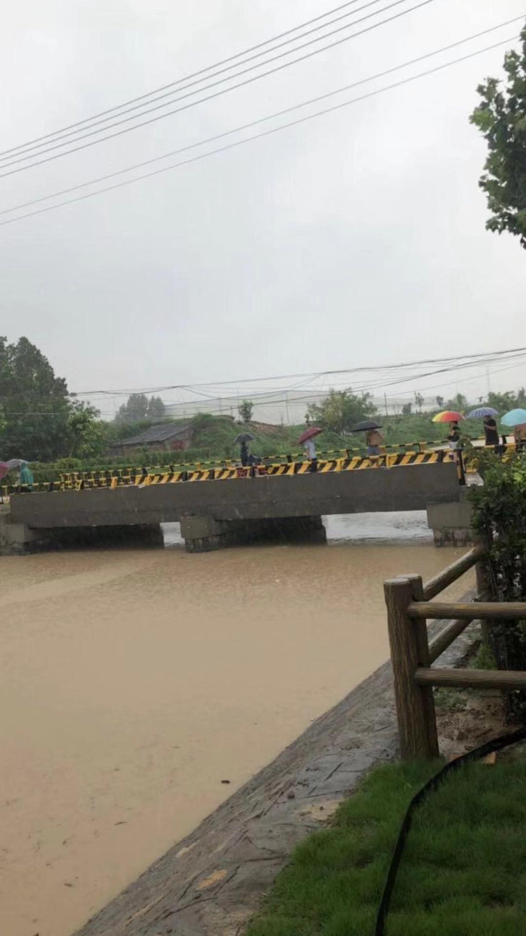 山东寿光大棚被淹村民不敢出门 感叹幸好买了保险