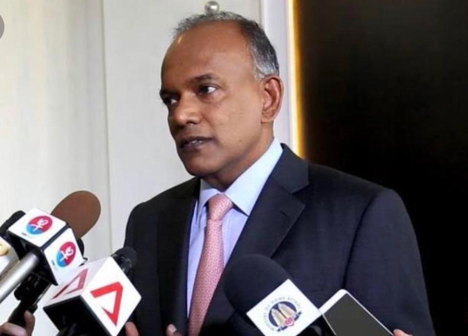 <b>新加坡内政部长:任何一个政府都有责任应对涉及法纪的局面</b>