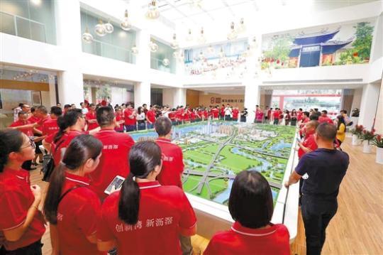 广州:沥滘旧村改造复建房开建