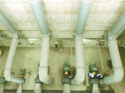 分别设有初佛冈foganglao在期池、泵房和调蓄池