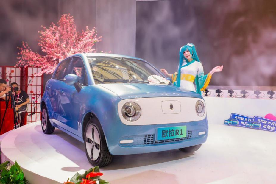 欧拉汽车亮相2019 China Joy,开启汽车品牌