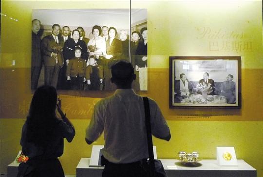 宋庆龄的国务文物礼品 首次走出上海