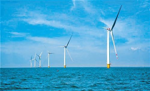 下海北是广东第一个接入昌大致新网怎么样了?220千伏系统的海上风力发电场