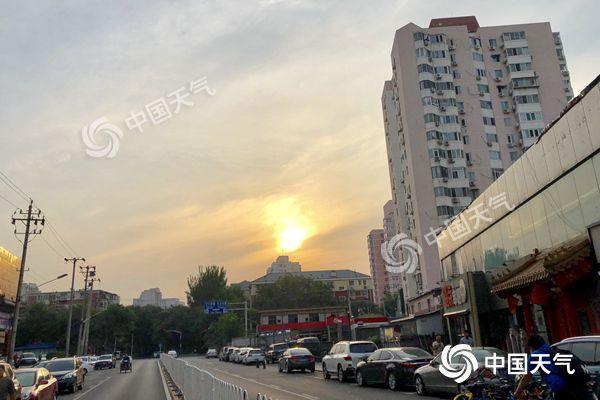 北京今天接着晒山区有雷雨 明天