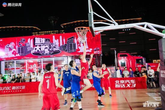 超越主场·篮球大篷车驶入武汉 CBA名宿王磊亲授三分技巧