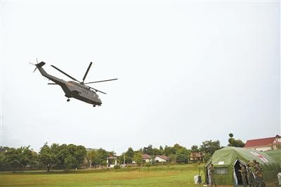 中国新型救护直升机首次执行国际卫勤联演任务