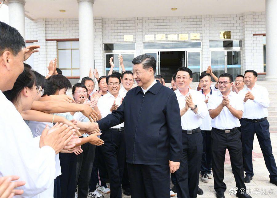 热点新闻:习近平考察山丹培黎学校和山丹马场