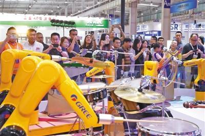 2019世界機器人大會開幕 700多機器人等你來打卡