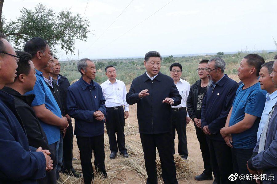 习近平:发扬新时代愚公精神建设美丽中国