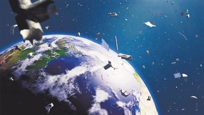 """热点新闻:""""最强生物""""敲响警钟 在太空中也需要垃圾分类"""