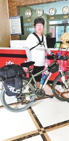送自己独特高中毕业礼 武汉男孩25天骑行1400公里